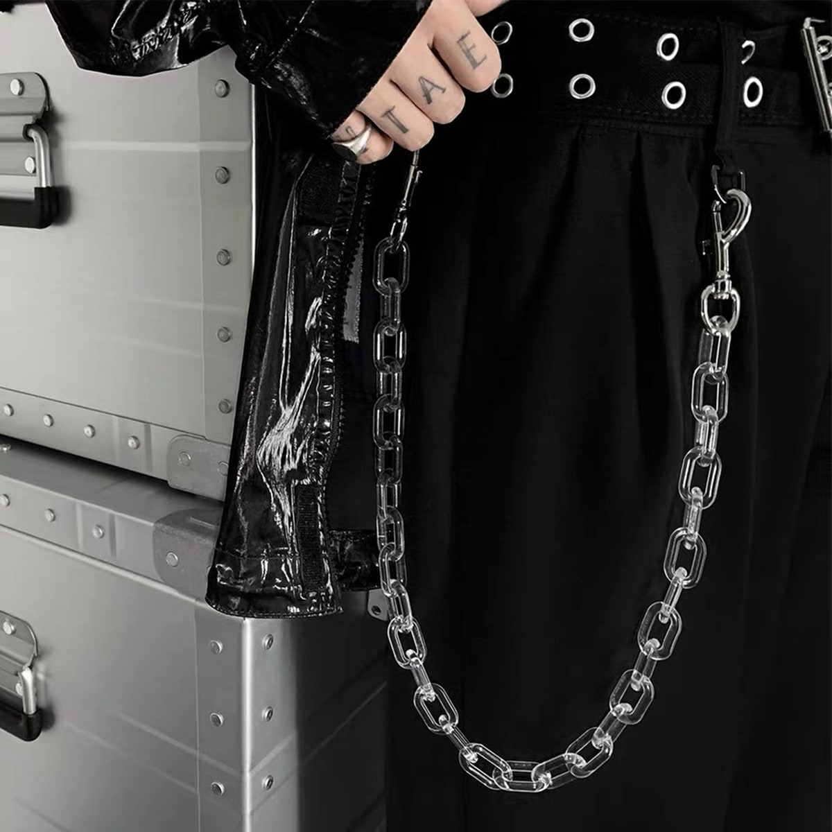 Мужская акриловая цепочка для брюк