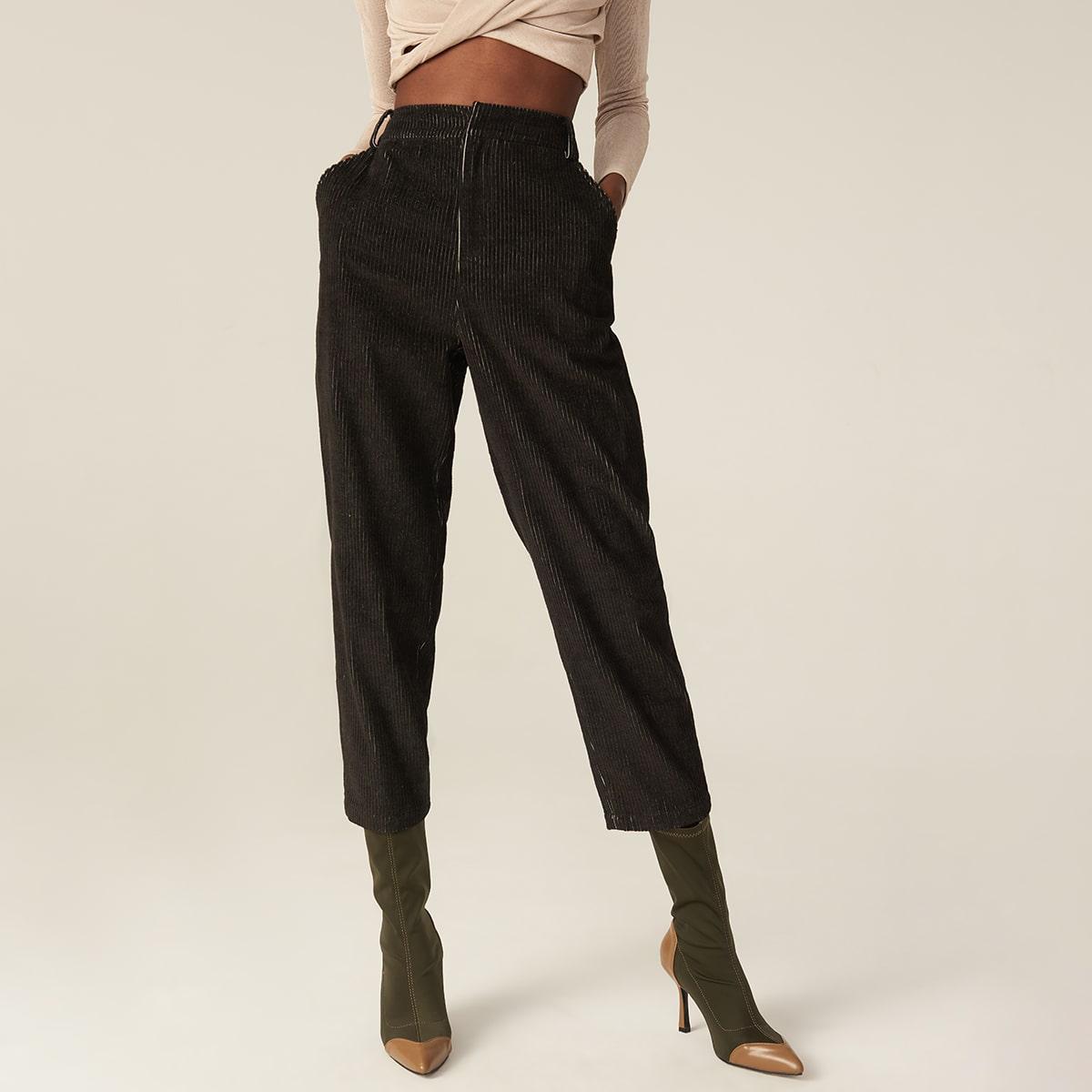 Вельветовые короткие брюки