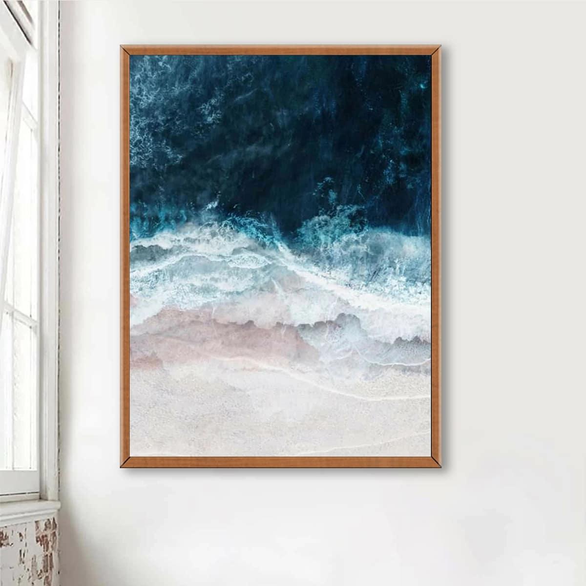 DIY Diamand Malerei mit Strand Muster