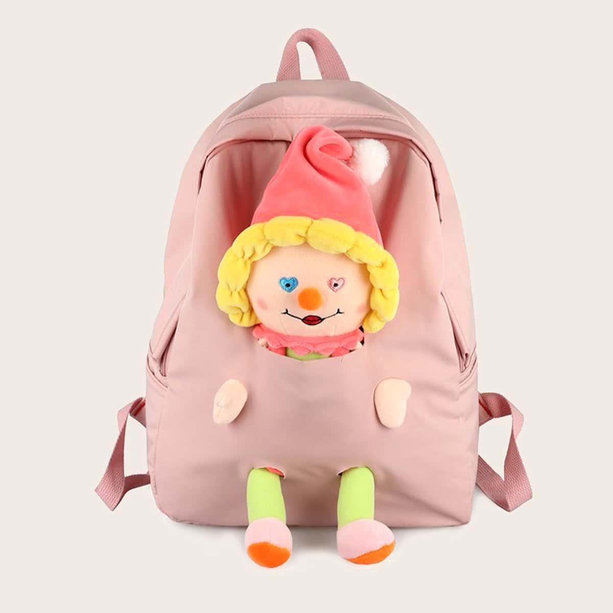 Рюкзак с мультипликационным декором