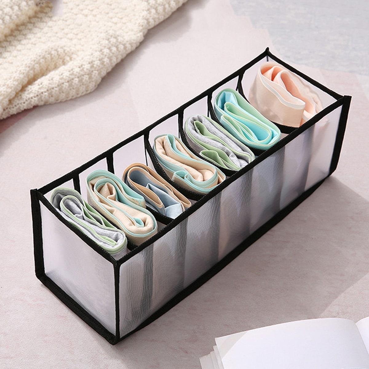 Складной ящик для хранения нижнего белья 1шт