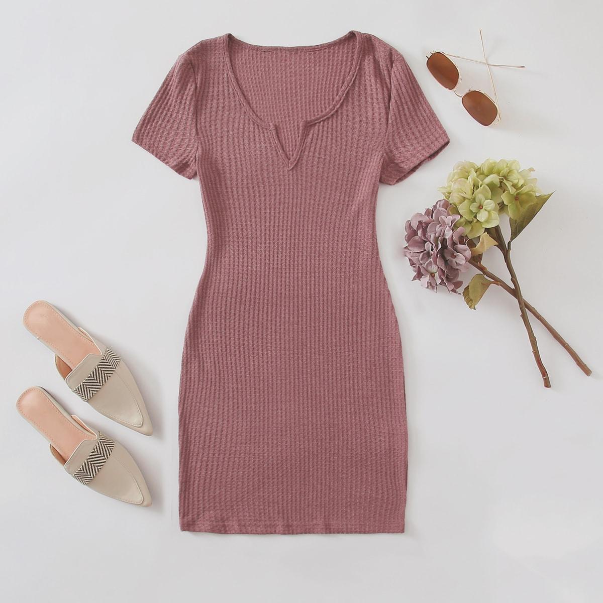 Вязаное платье SheIn swdress07200815880