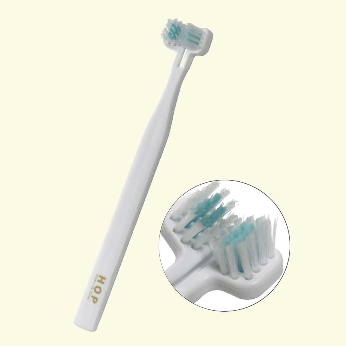 1 Stück Katze Zahnbürste