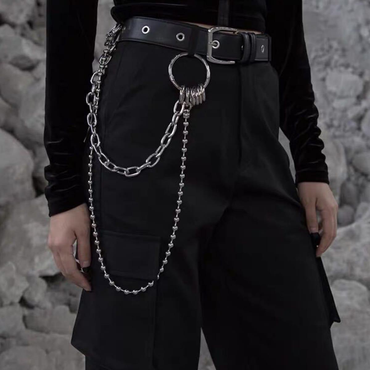 Мужская многослойная цепочка для брюк