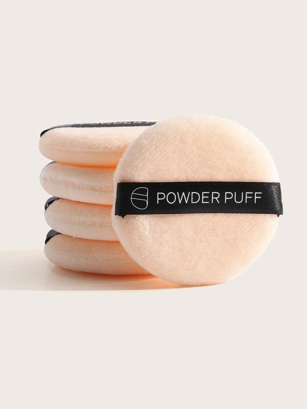 5pcs Round Powder Puff