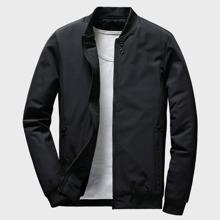 Guys Zip Up Bomber Jacket
