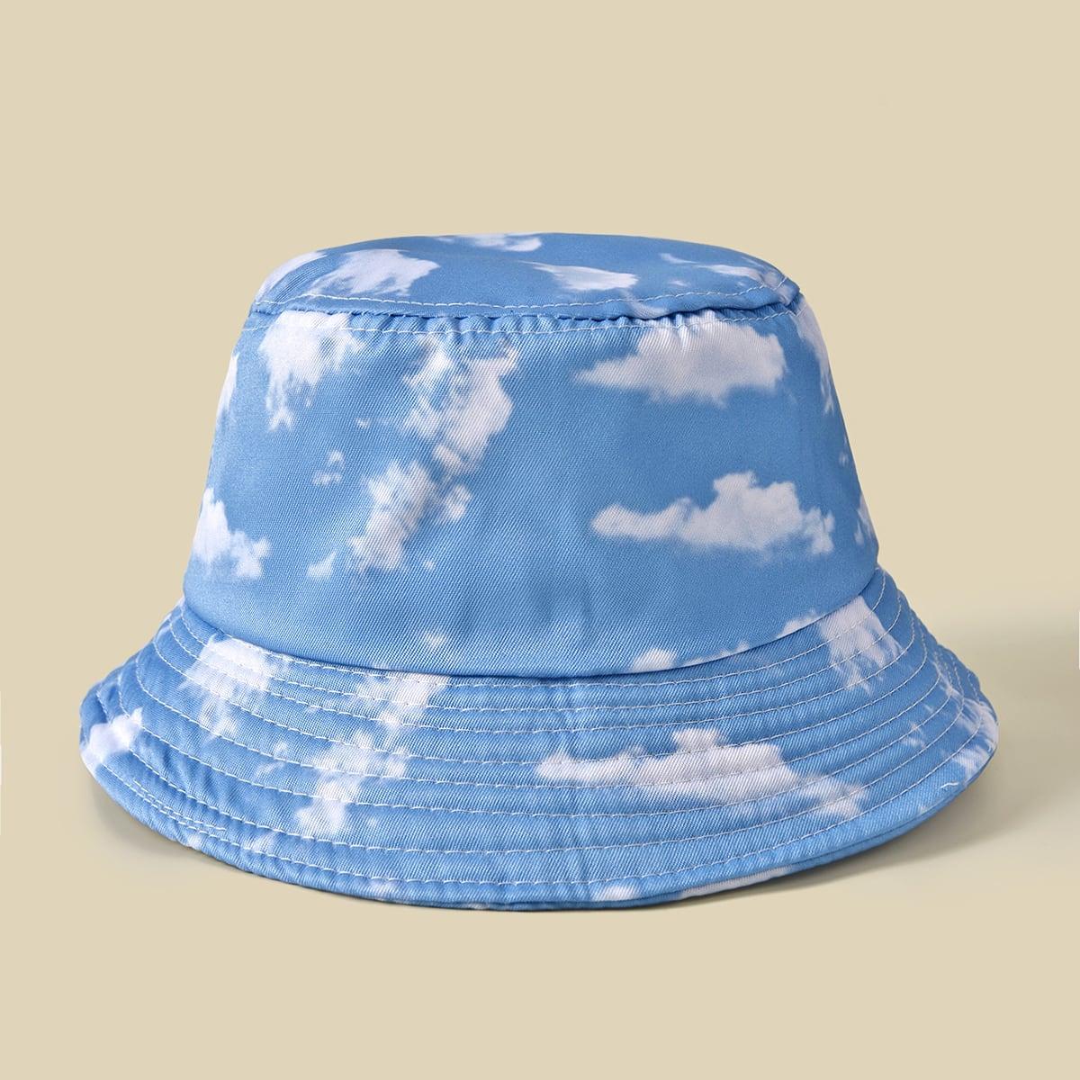 Шляпа с принтом