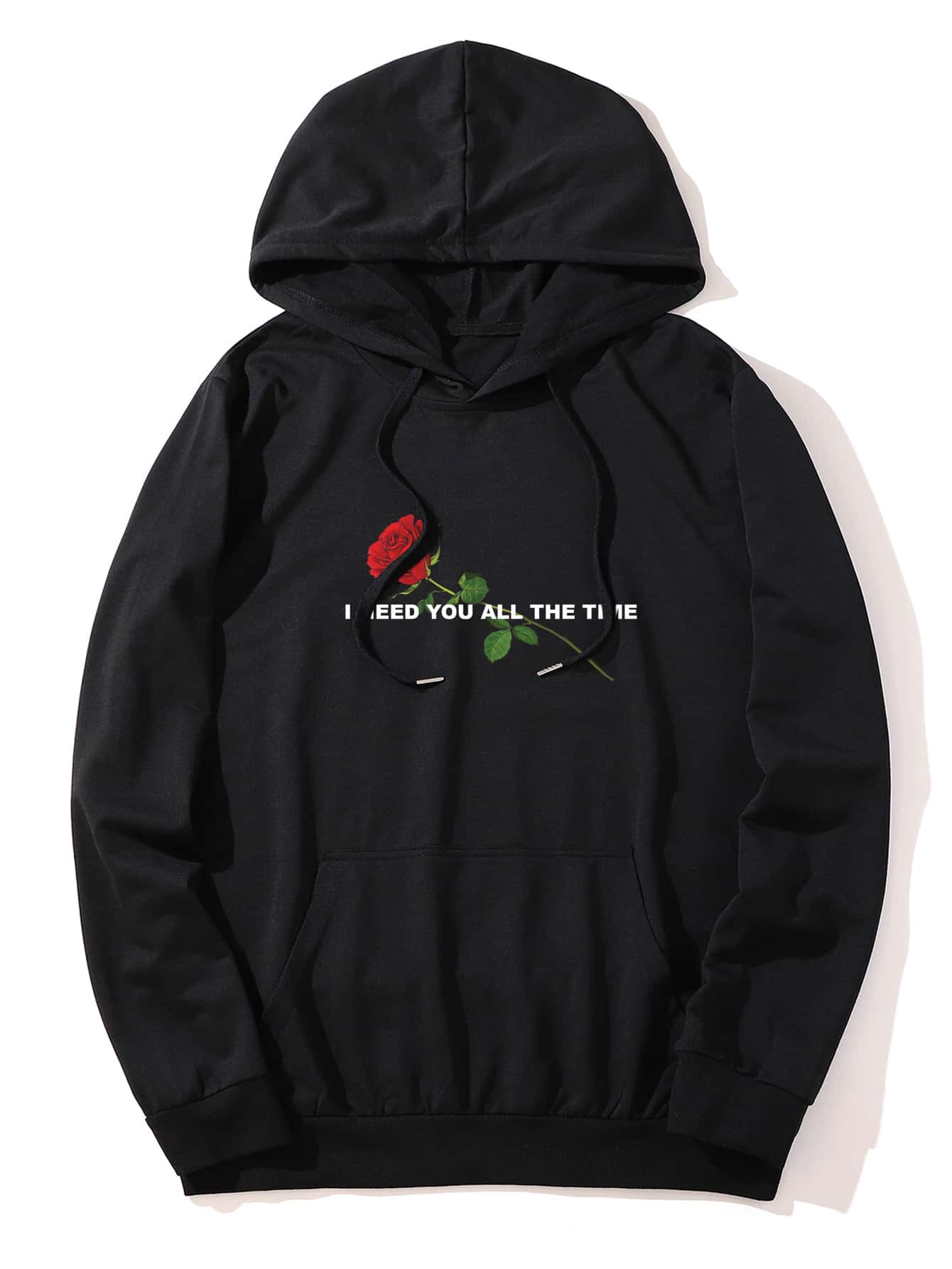 "Sweat-shirt ""I need you all the time"" Ro"