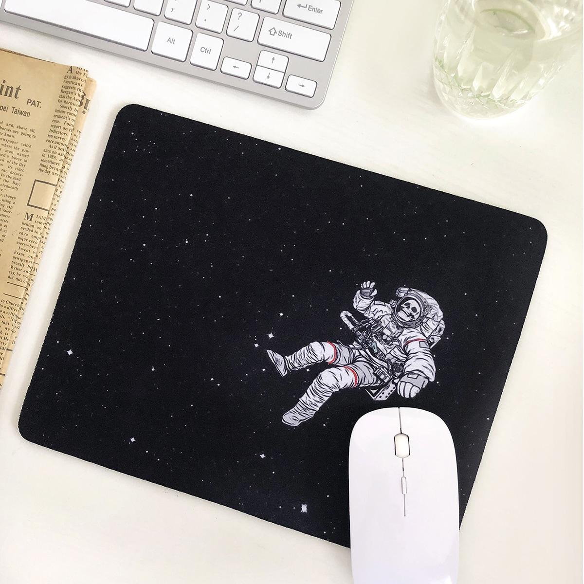 Mauspad mit Astronaut Muster