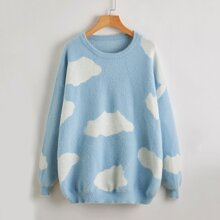 Cloud Fuzzy Sweater