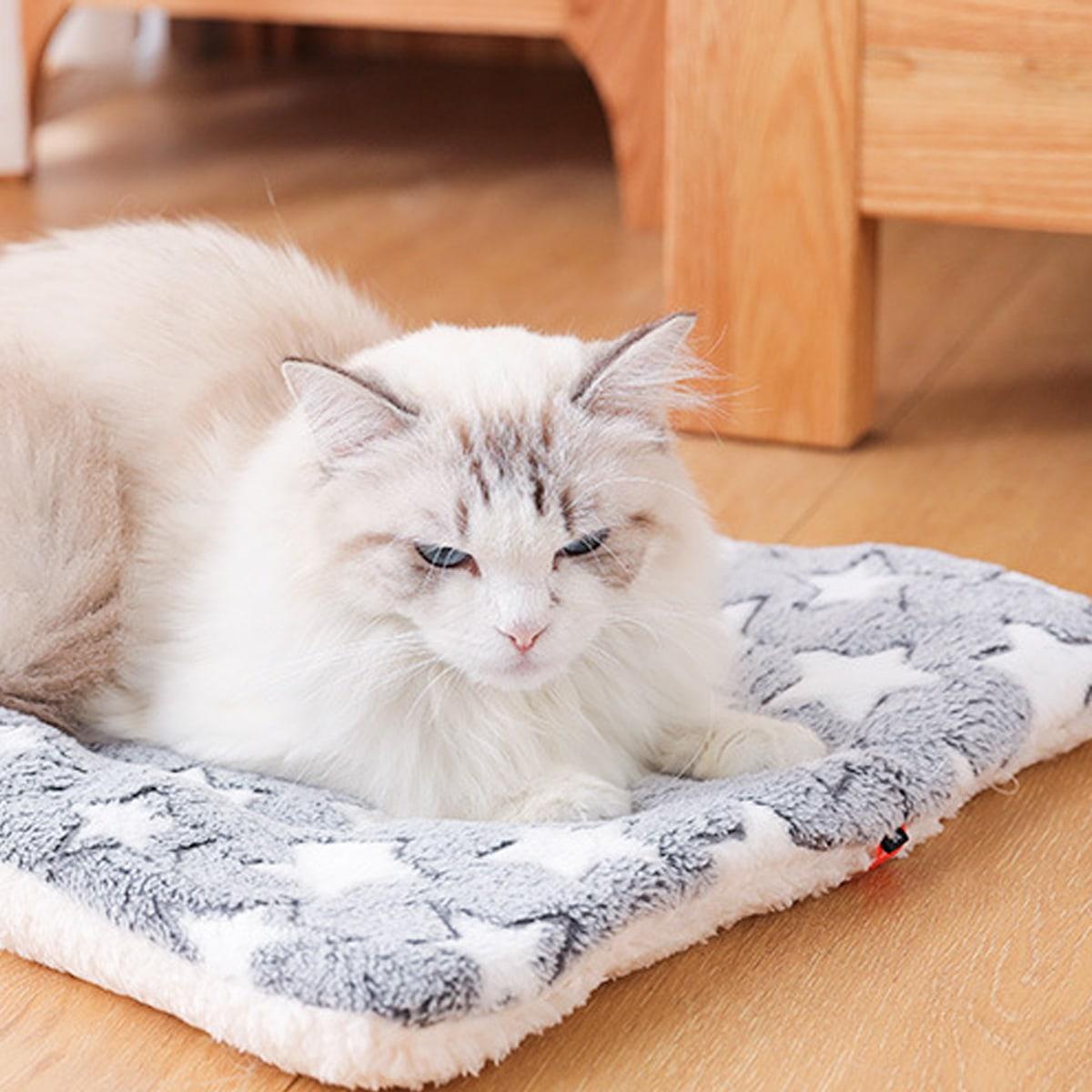 Katze Decke mit geometrischem Muster