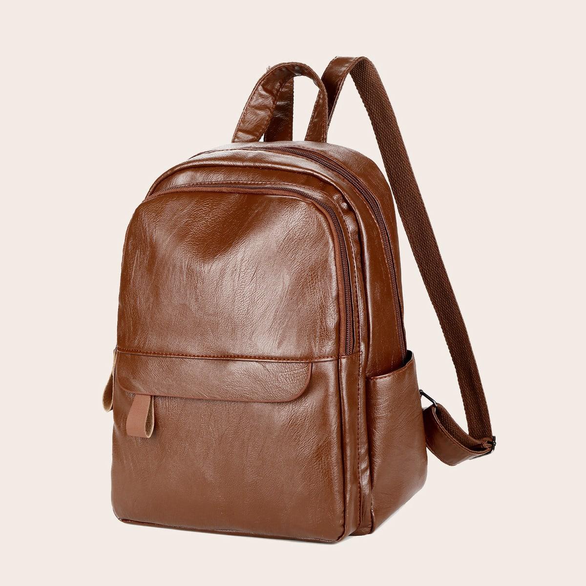 Минималистичный рюкзак на молнии сзади