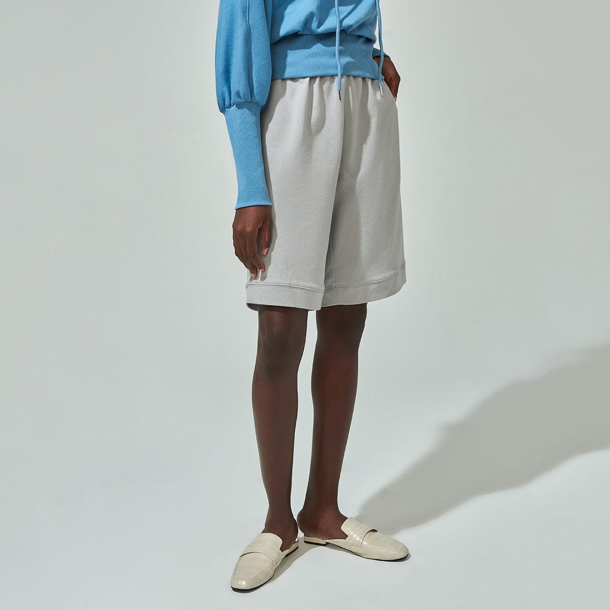 Широкие шорты из 100% хлопка