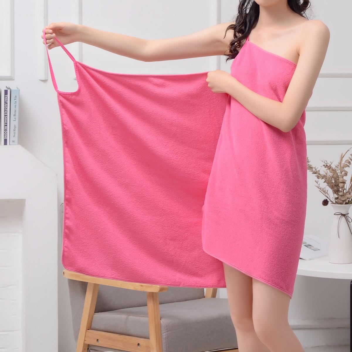 Однотонное банное полотенце 1шт