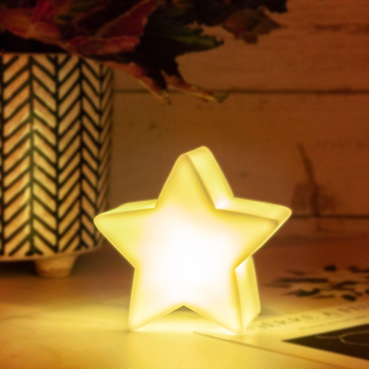 Многоцветный ночни в форме звезды 1шт