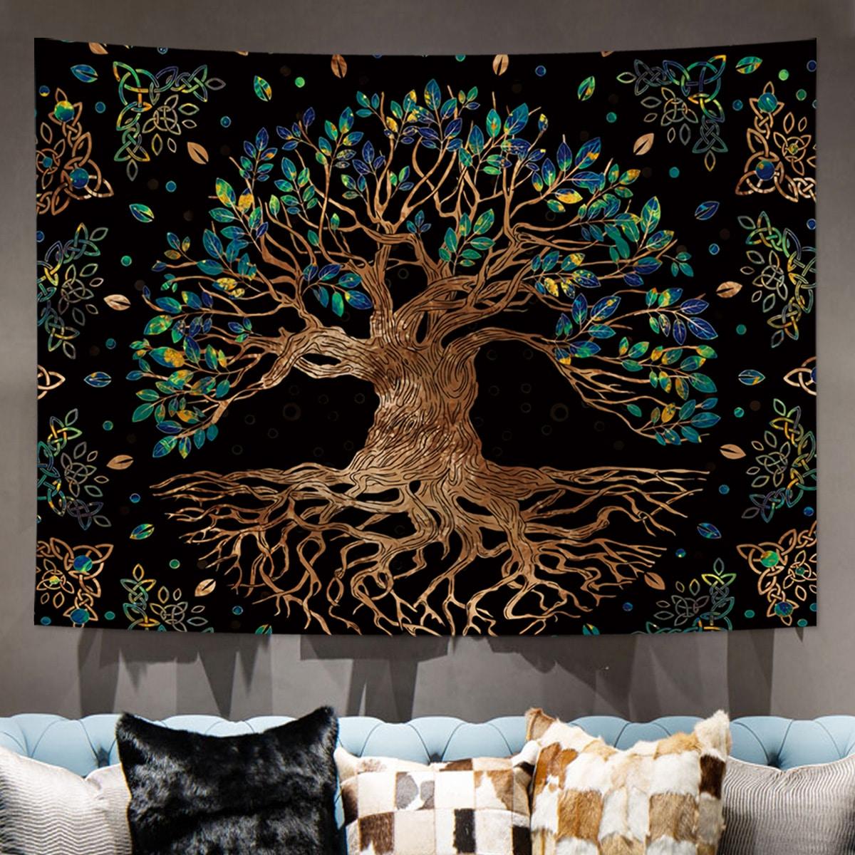 Tapisserie mit Baum Muster