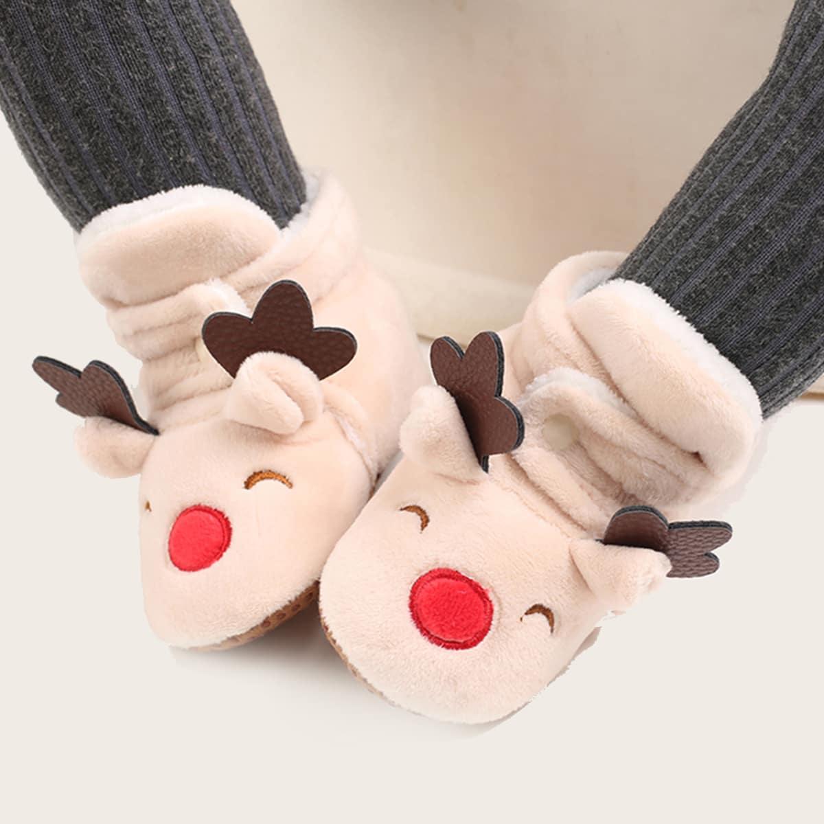 Рождественские мультипликационные сапоги для девочек