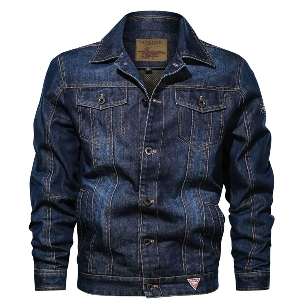 С карманами текст мужские джинсовые куртки