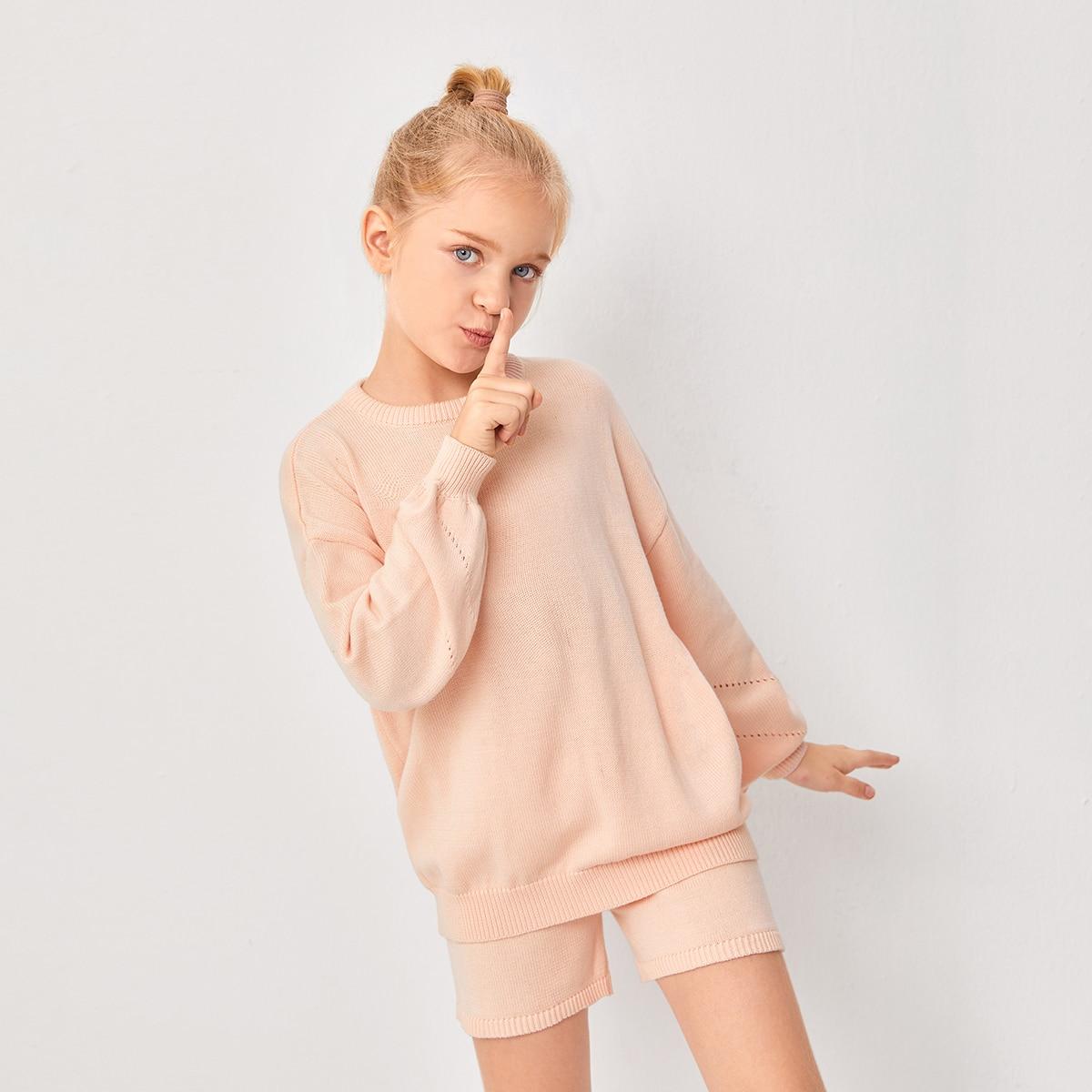 Свитер и шорты для девочек