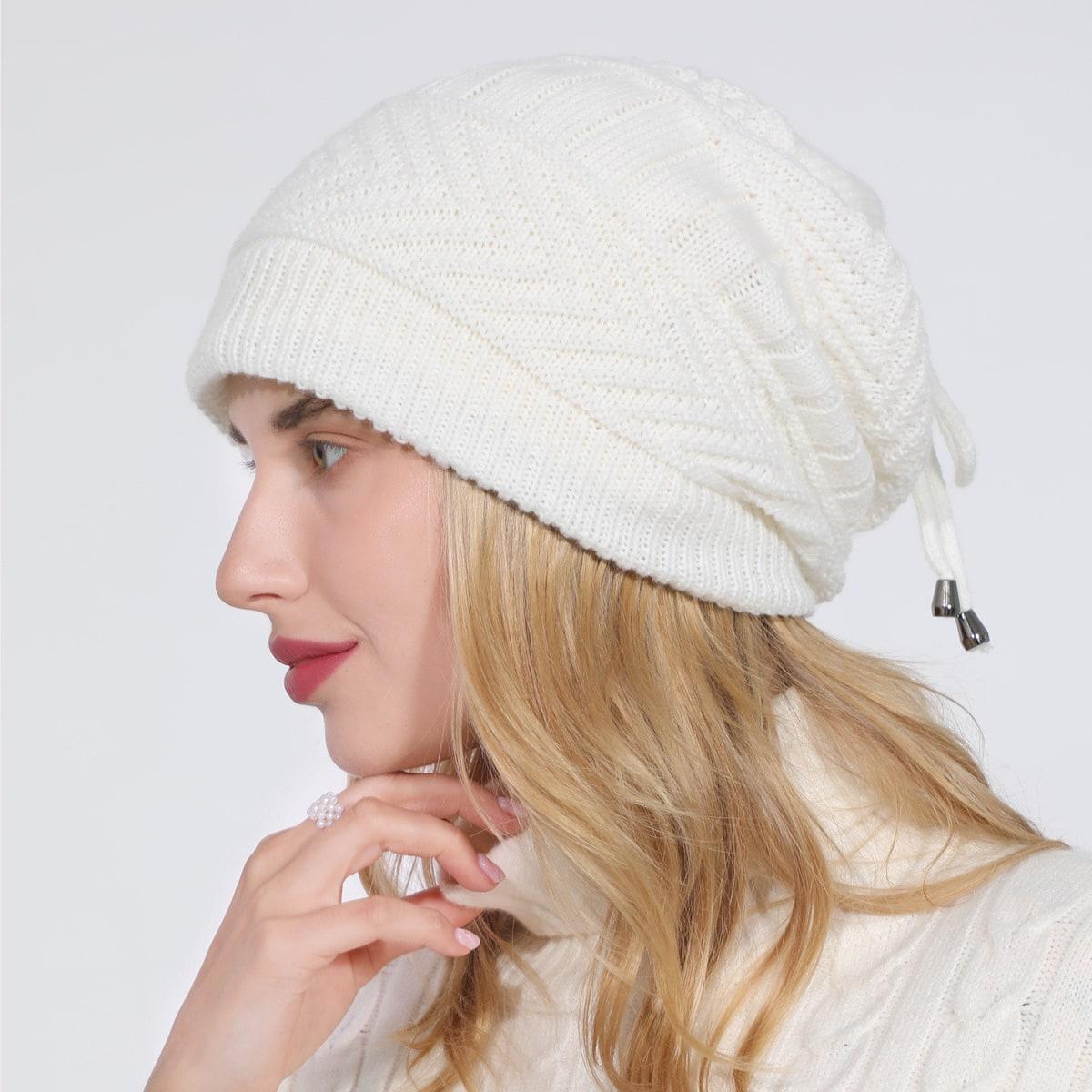 Шапка-бини шарф двойного назначения