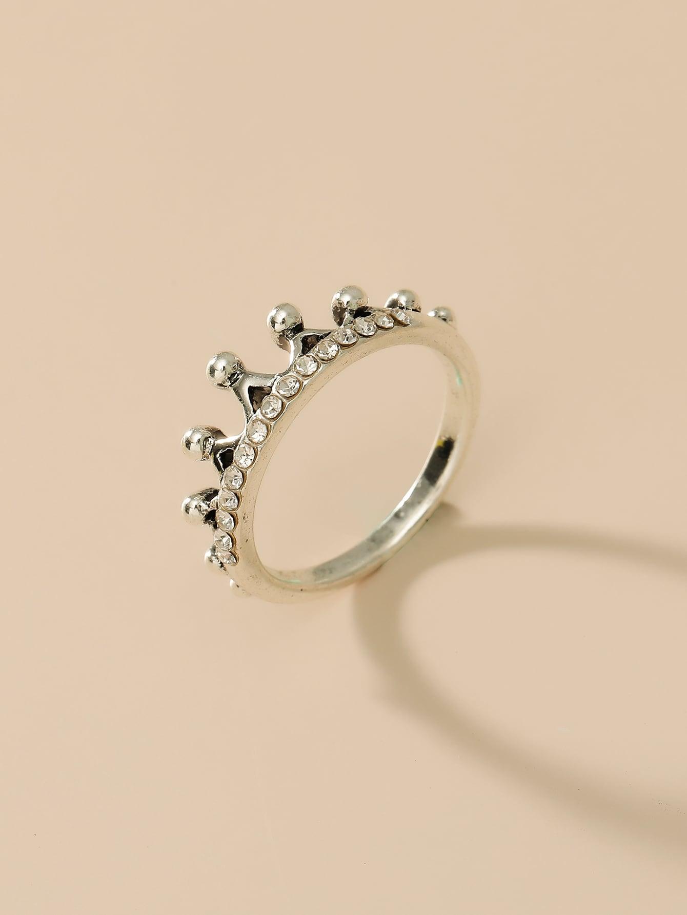 Rhinestone Decor Ring thumbnail