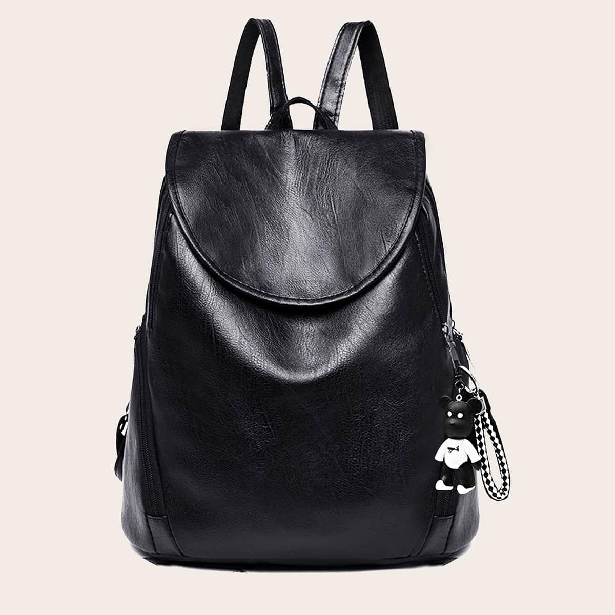 Минималистский рюкзак с подвеской для сумки