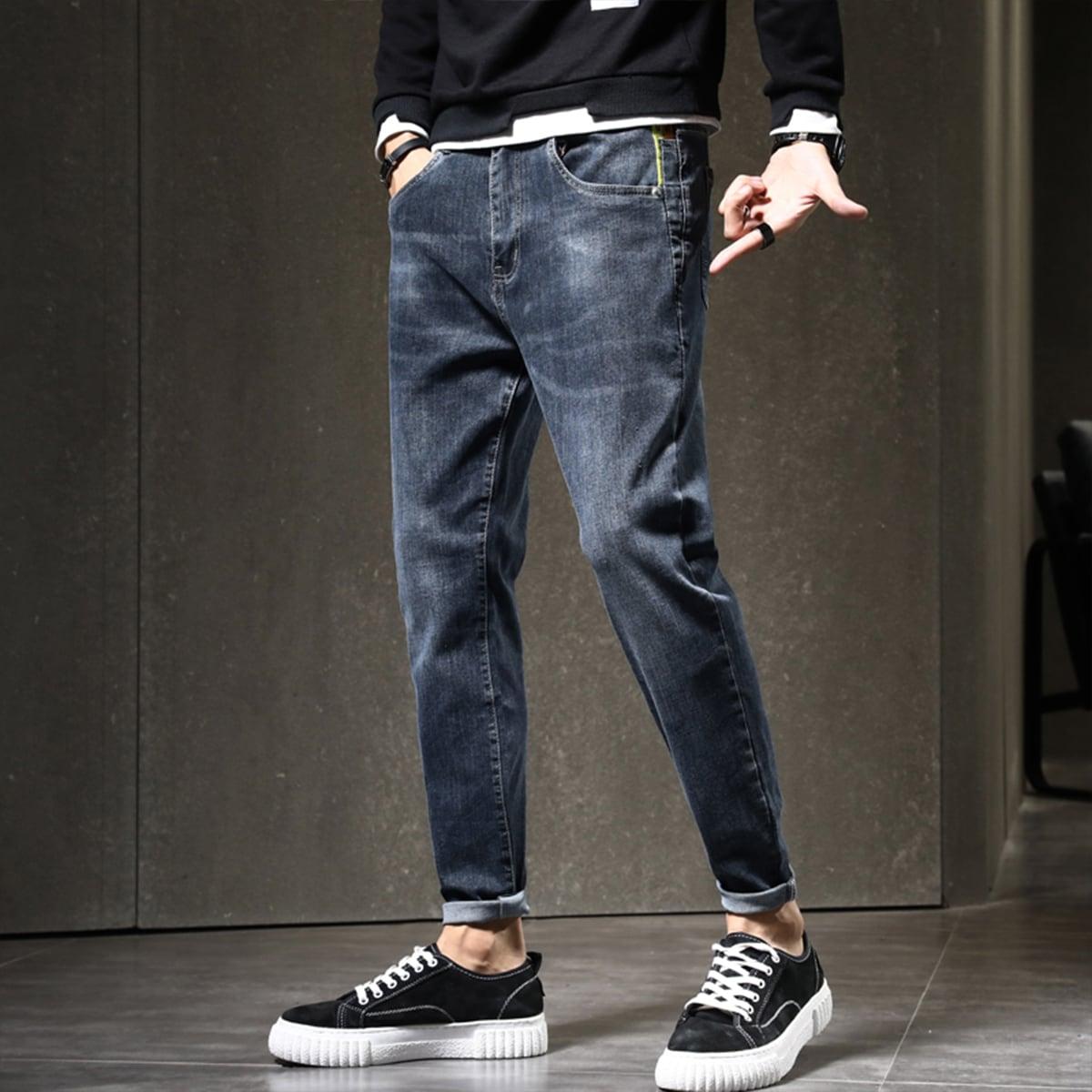 Карман повседневный мужские джинсы