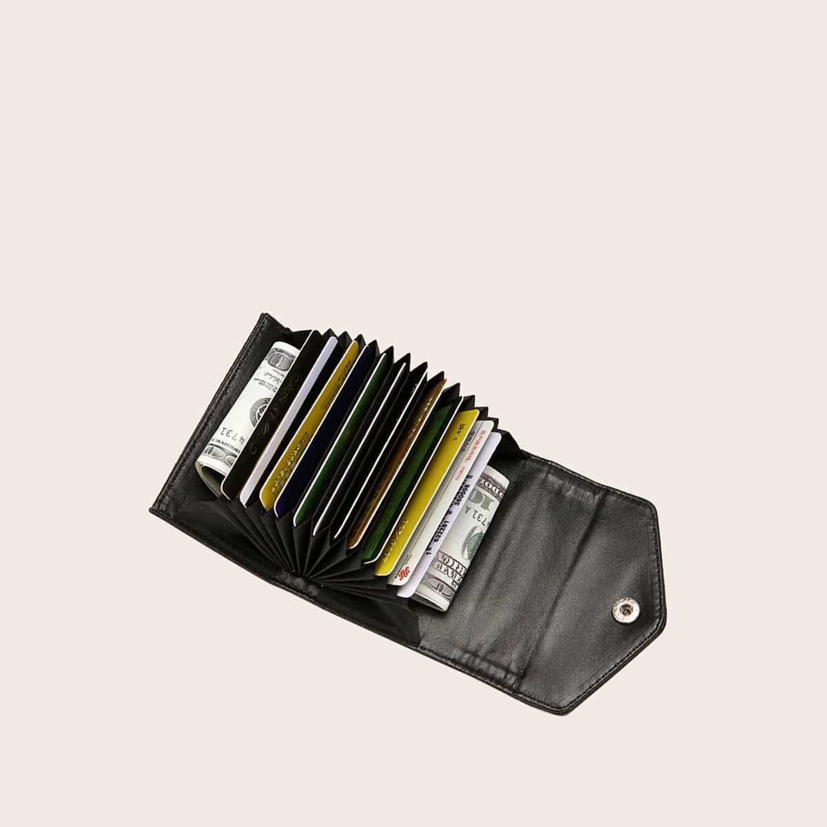 Складной кошелек на кнопках