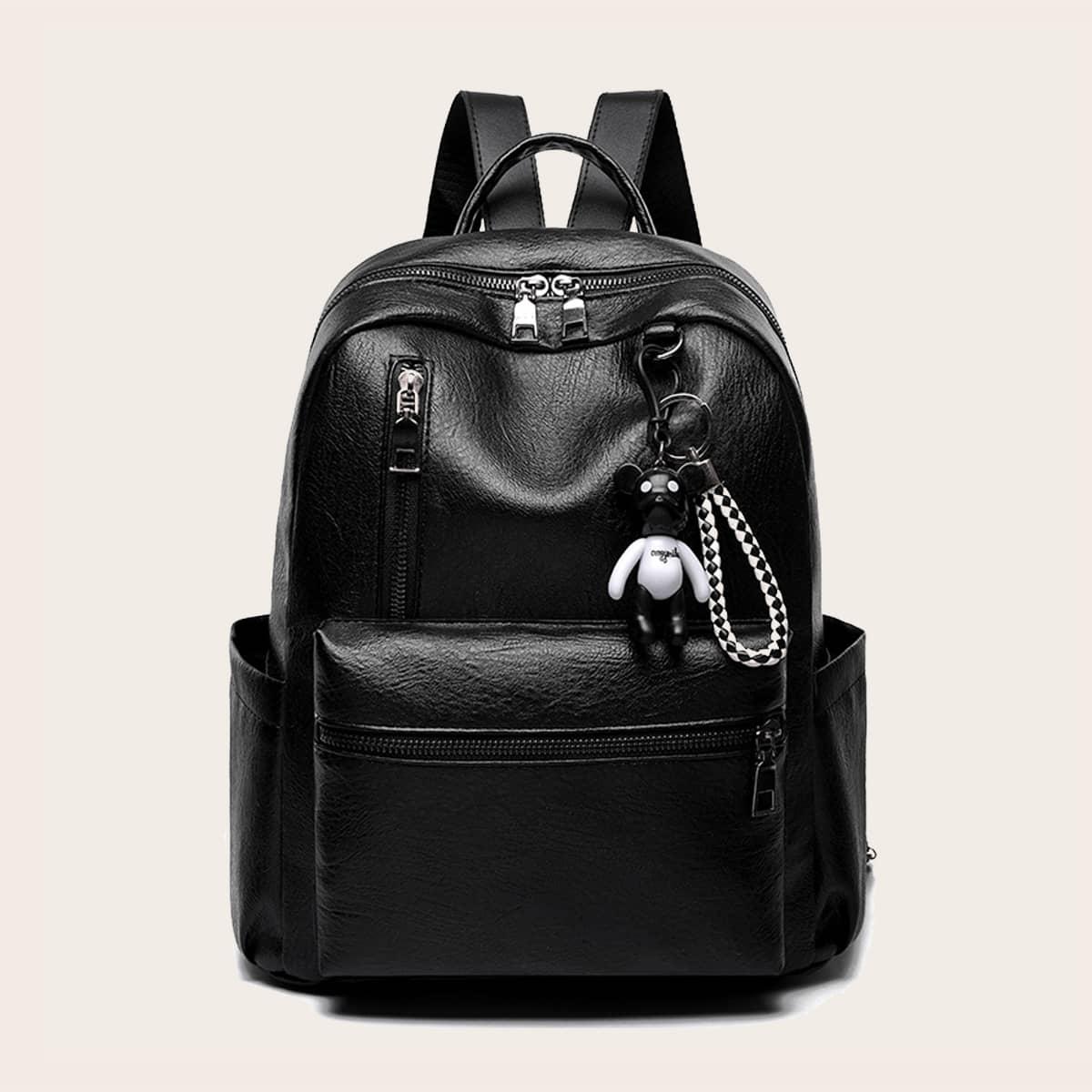 Минималистский рюкзак с подвеской