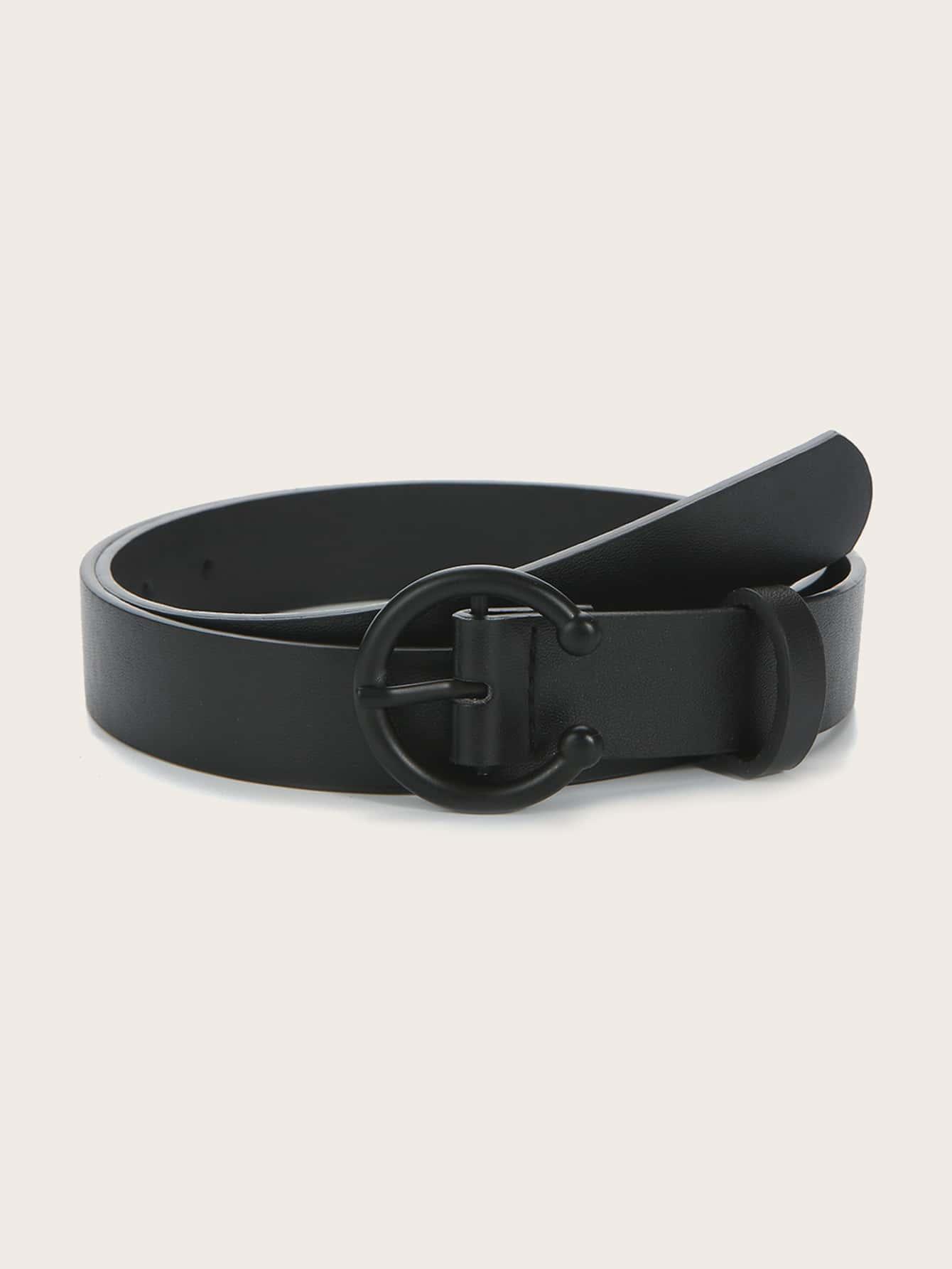 Cuff Round Buckle Belt thumbnail