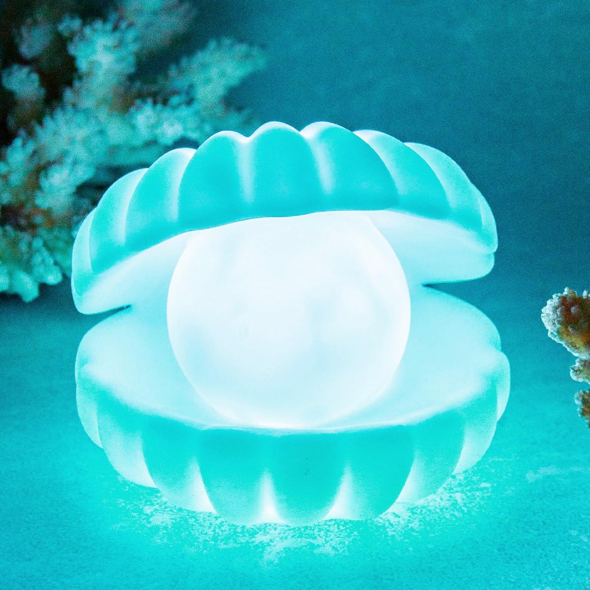 1 Stück Nachtlampe mit Perlen Design