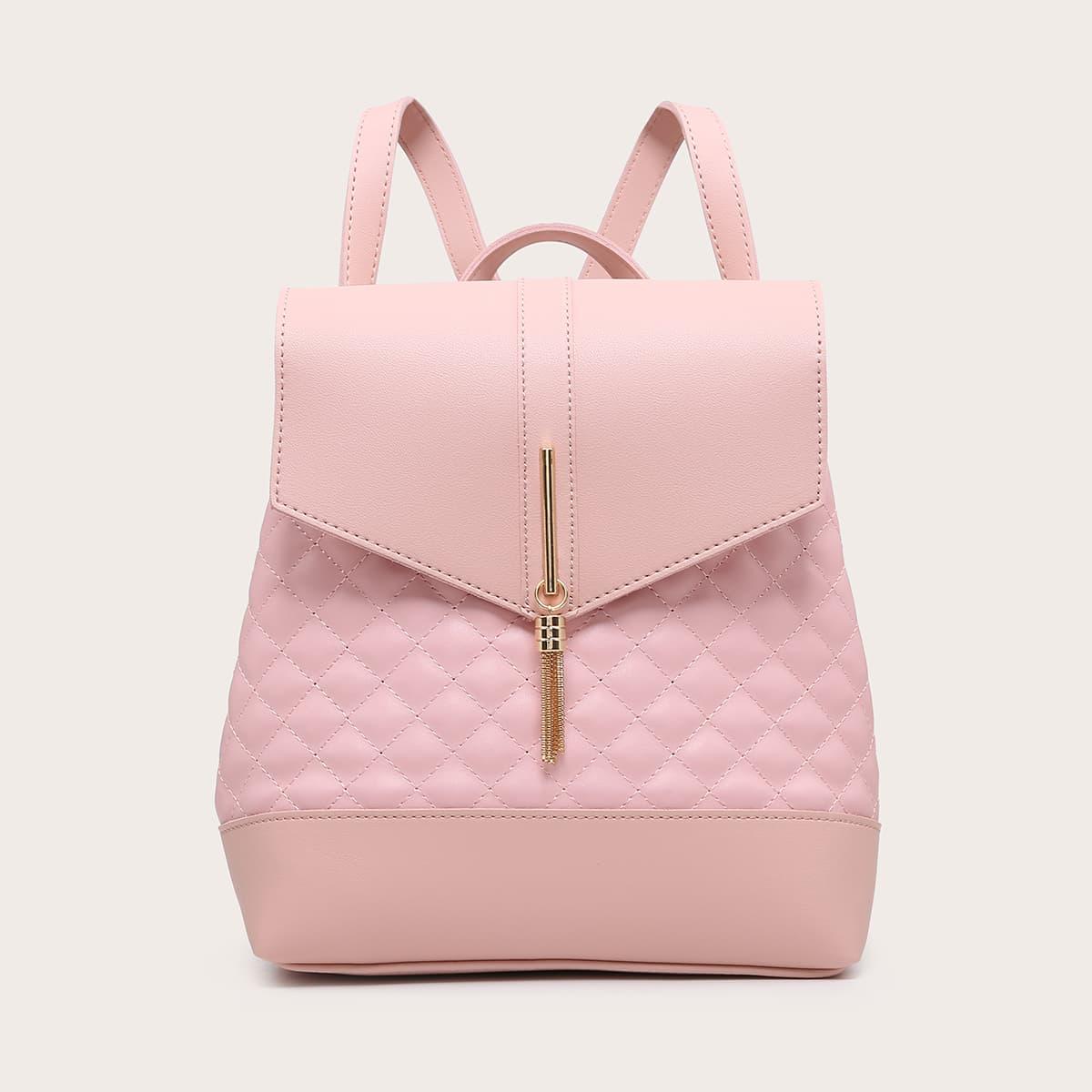 Рюкзак с металлической бахромой