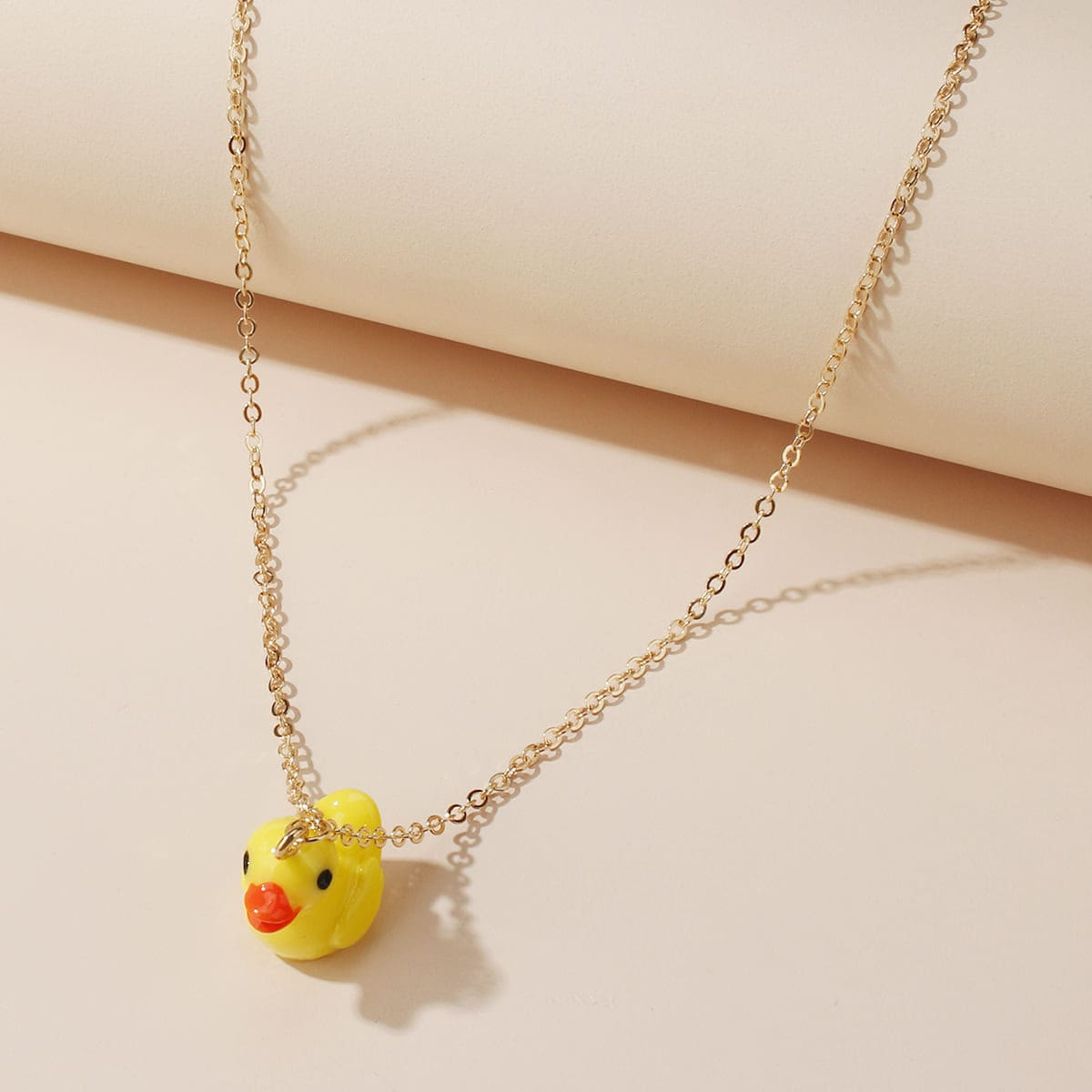 1pc Duck Charm Necklace, SHEIN  - buy with discount