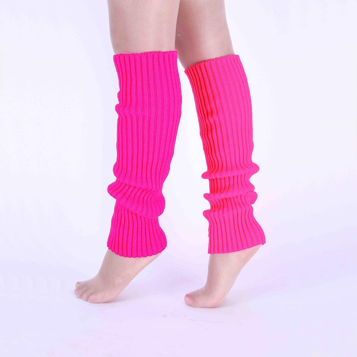 Танцевальные носки в рубчик