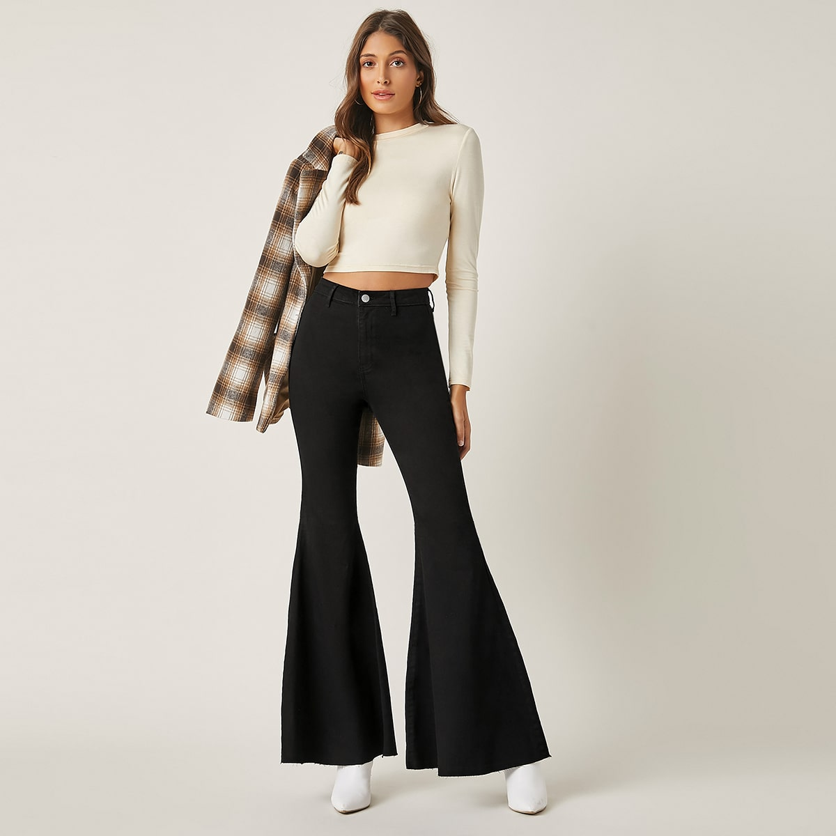 High-Waisted Just Float On Flare Jeans