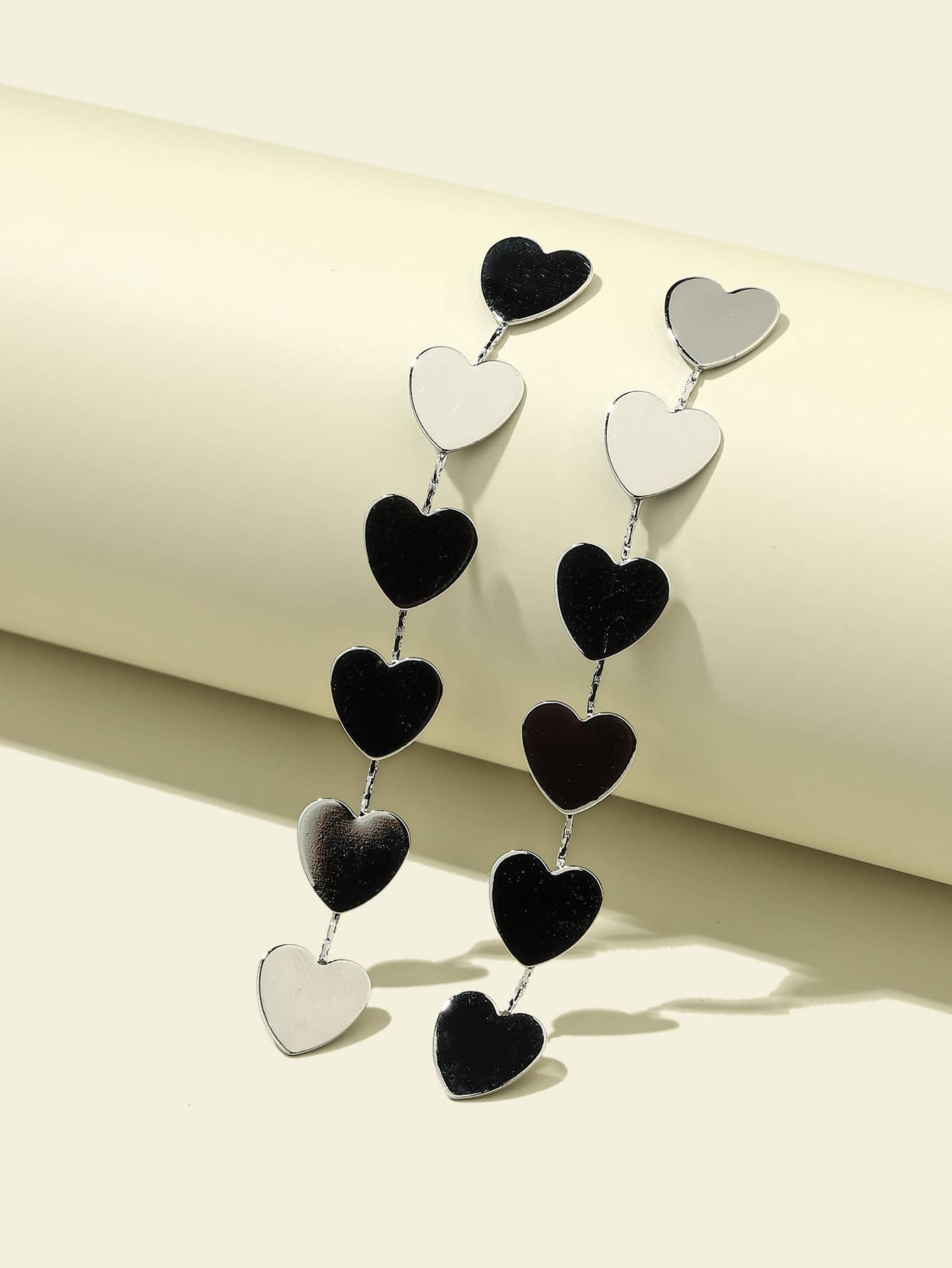 Heart Drop Earrings thumbnail