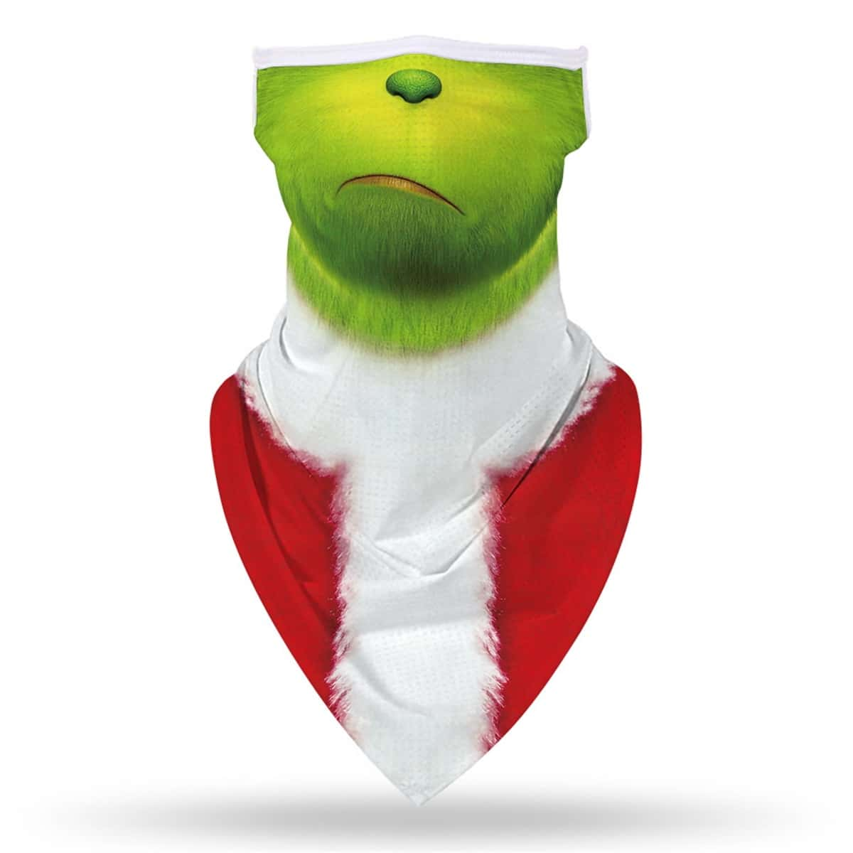 Мужская рождественская защита от солнца для лица с графическим принтом