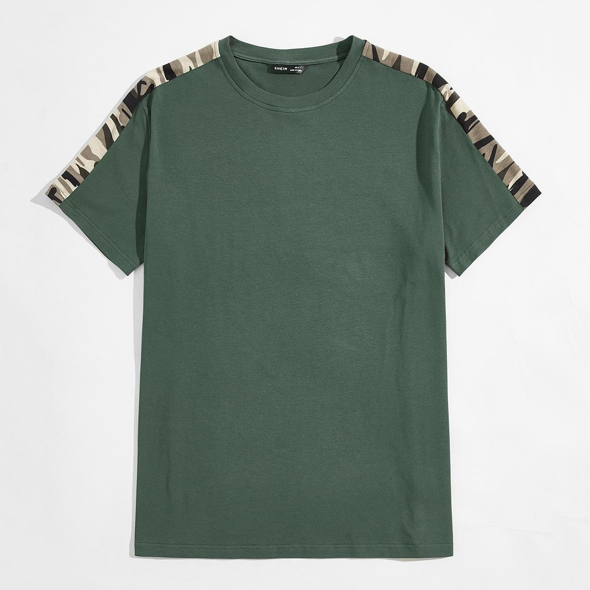 Камуфляж улица мужские футболки