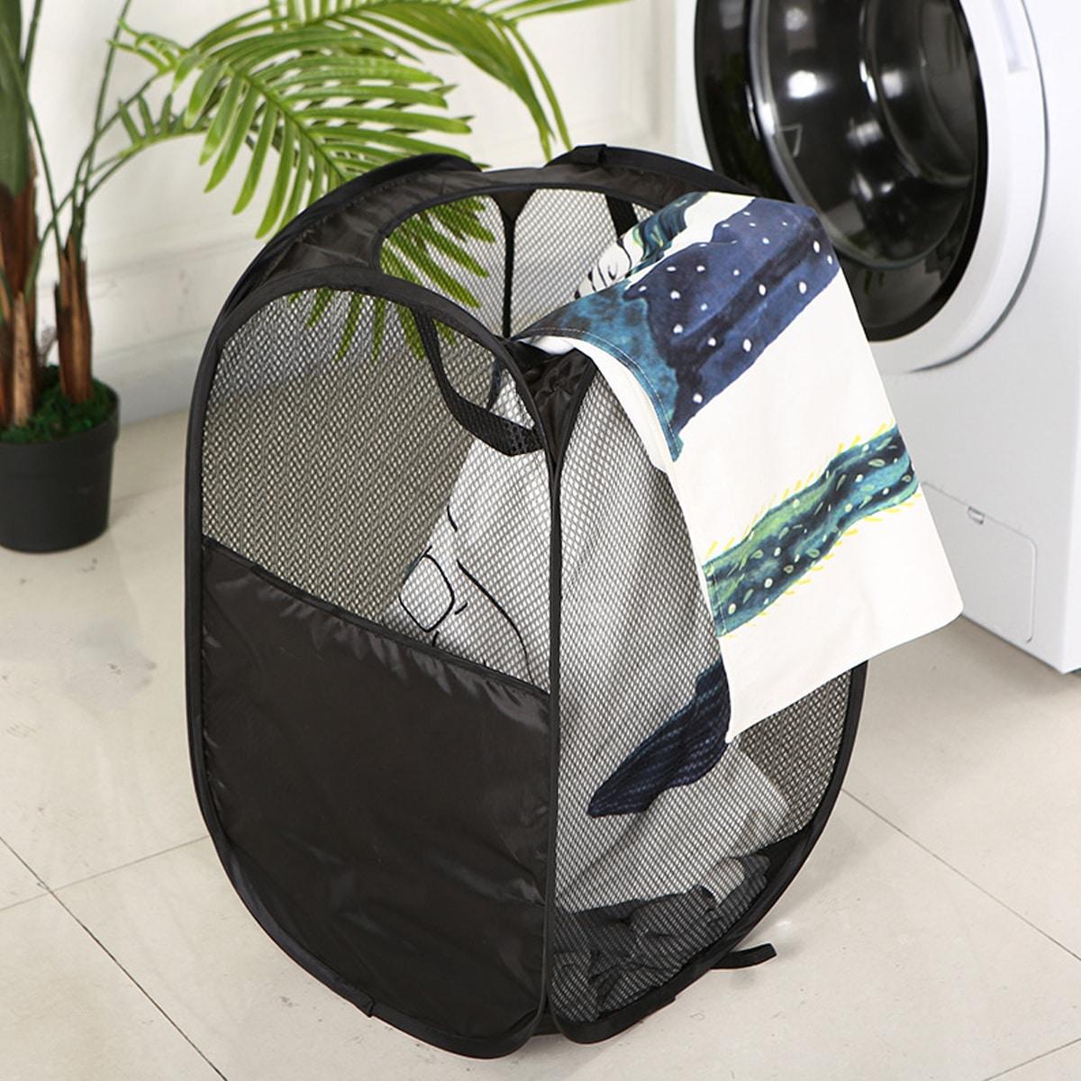 Складная корзина для хранения одежды