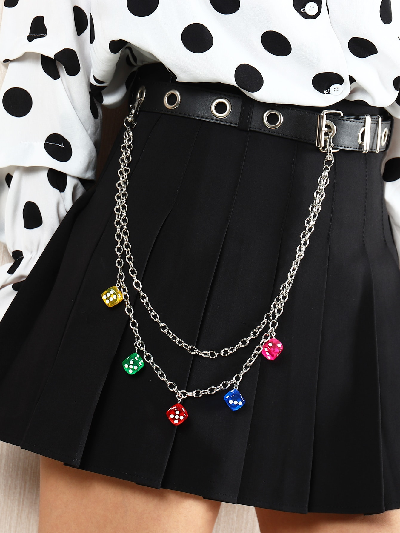 Dice Charm Pant Chain thumbnail