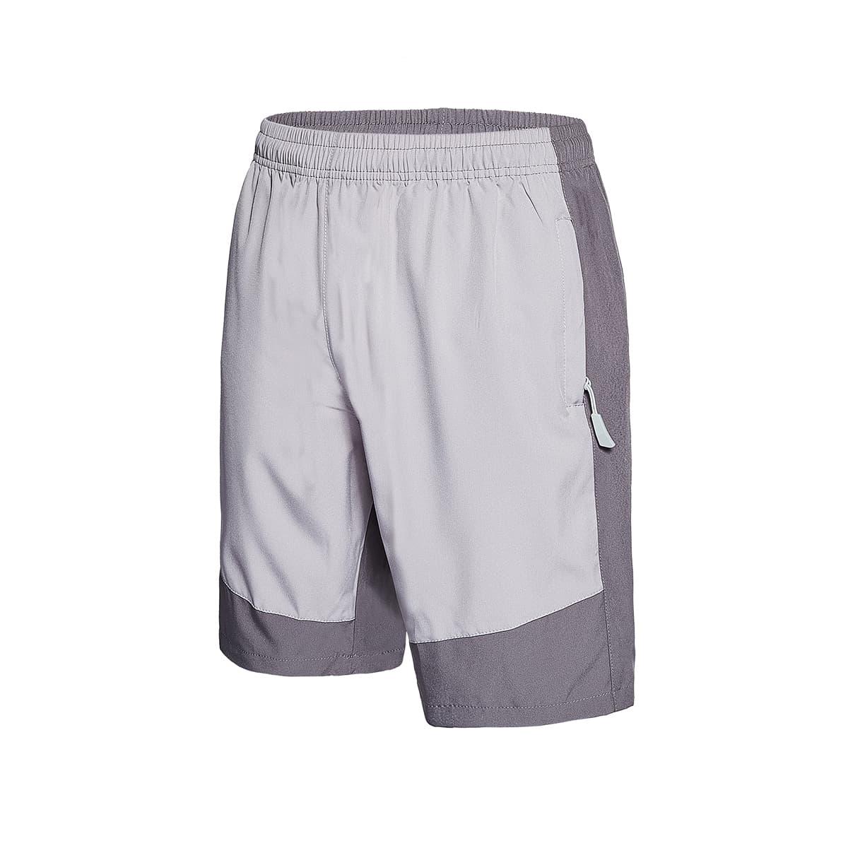 Мужские контрастные спортивные шорты