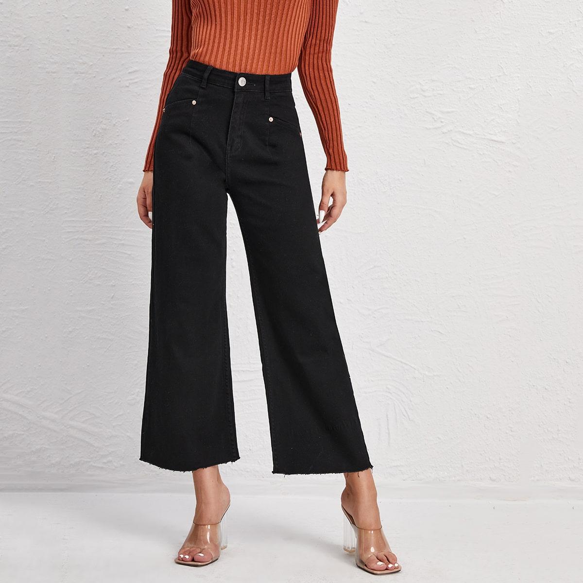 BLUES широкие джинсы с высокой талией