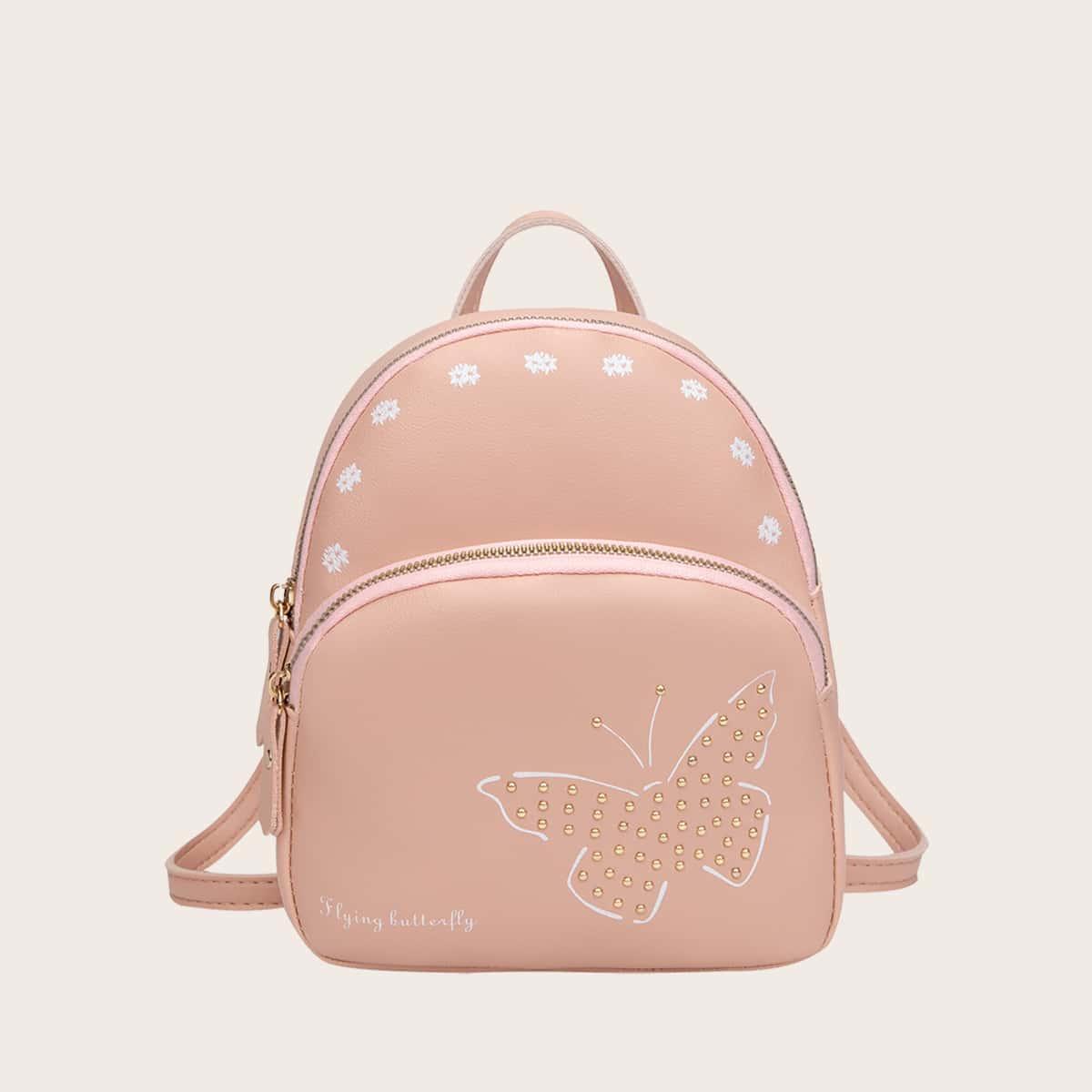 Рюкзак с цветочным узором