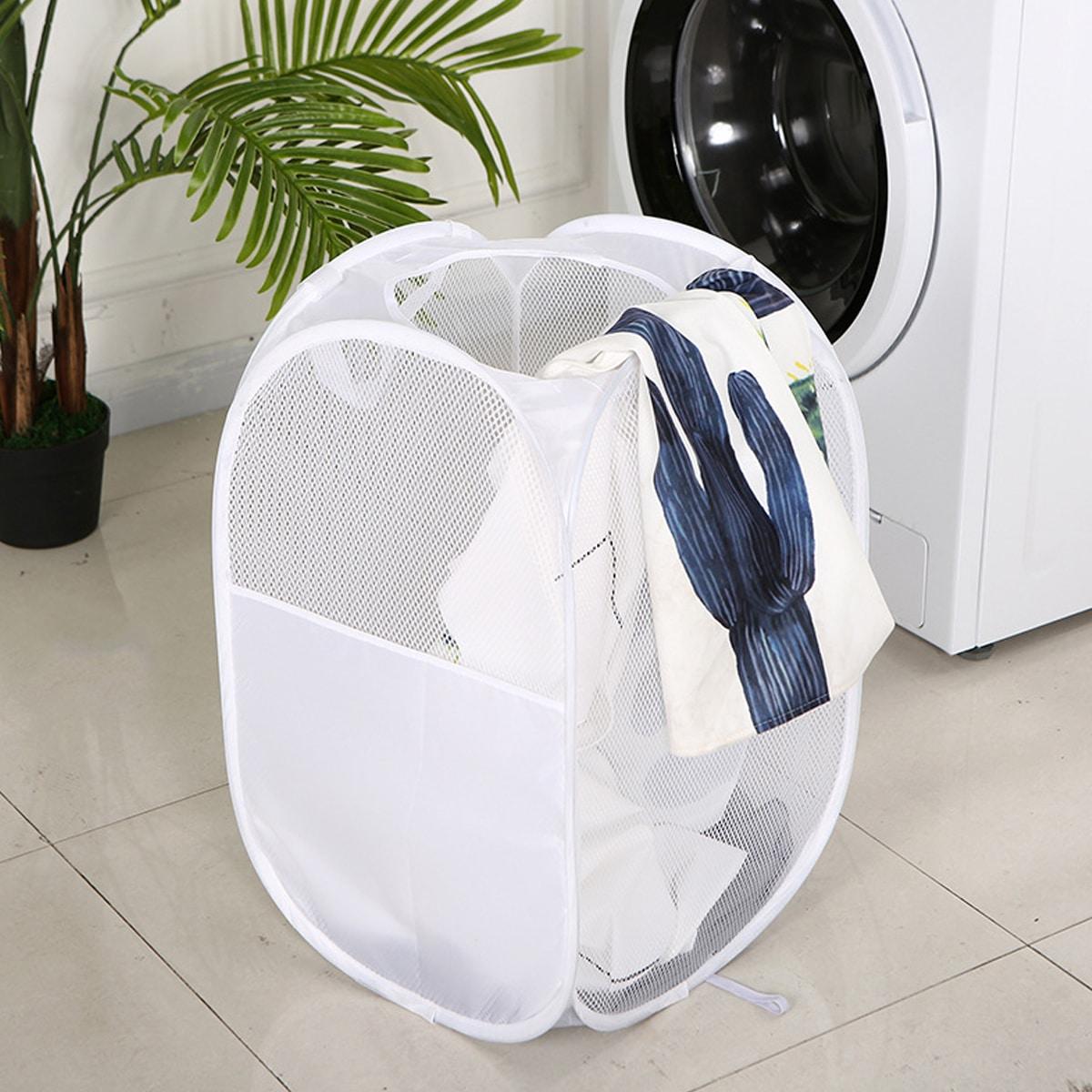 Складная корзина для грязной одежды 1шт