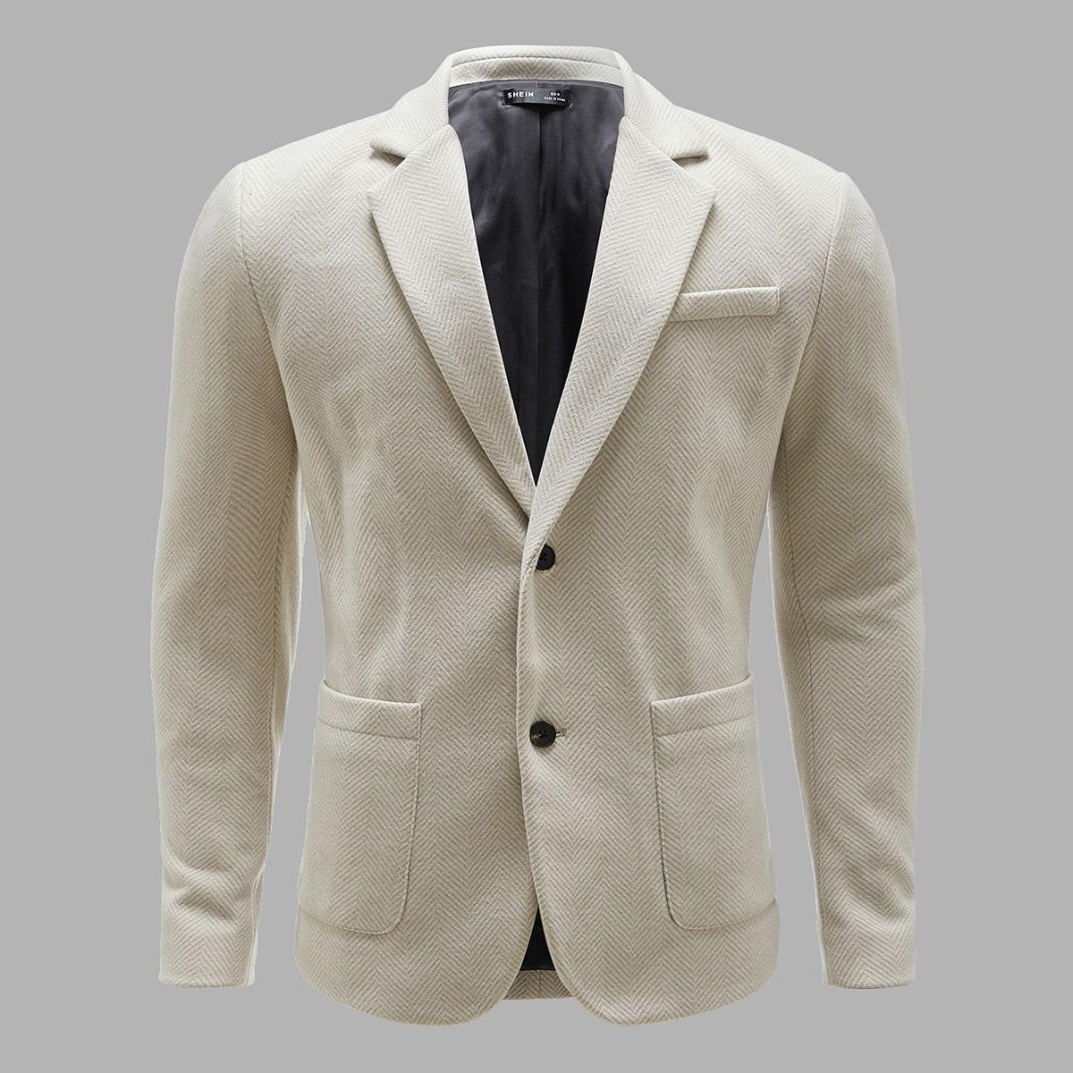 Мужской пиджак с карманом