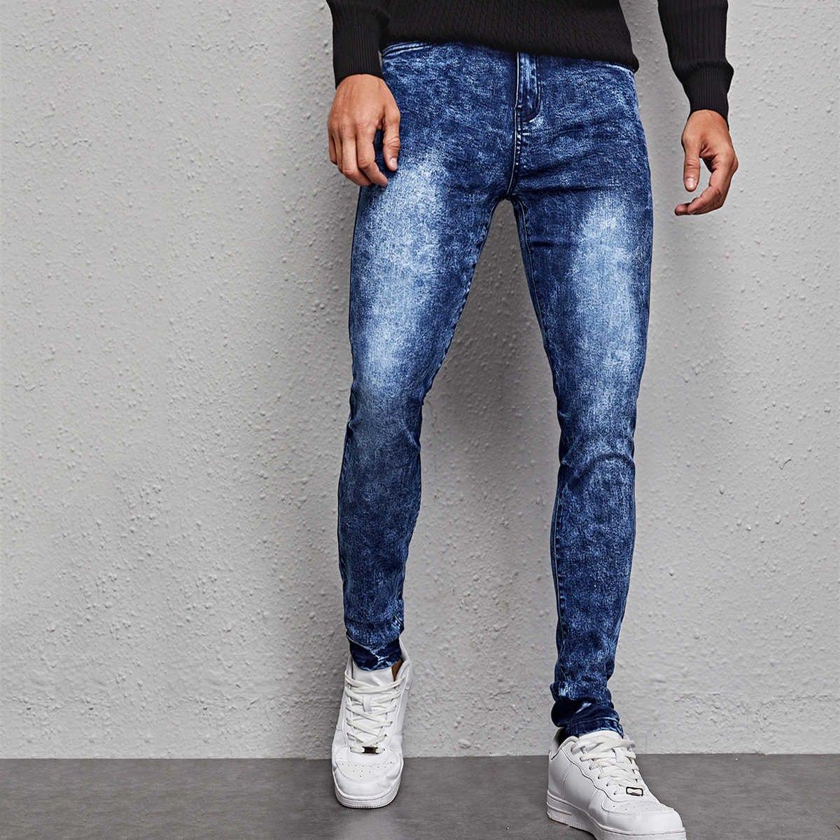 Повседневный мужские джинсы