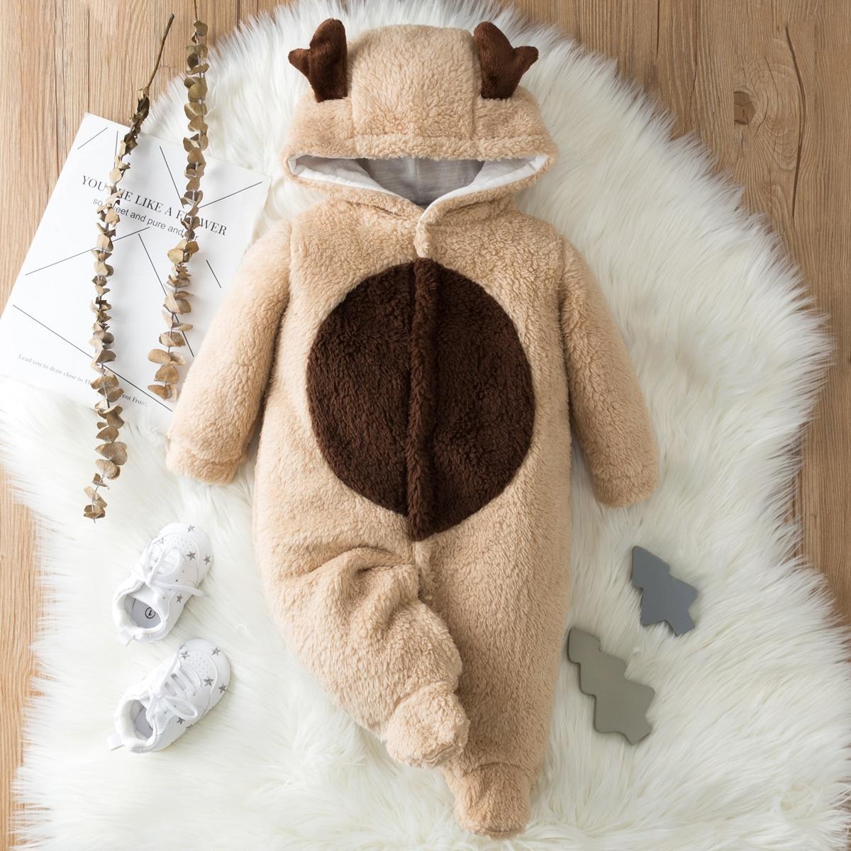 Аппликация контрастный цвет костюм с дизайном  для малышей