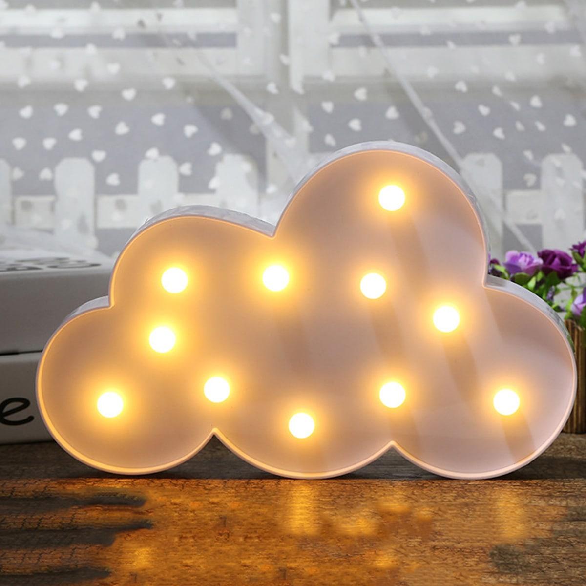 Ночник в форме облака