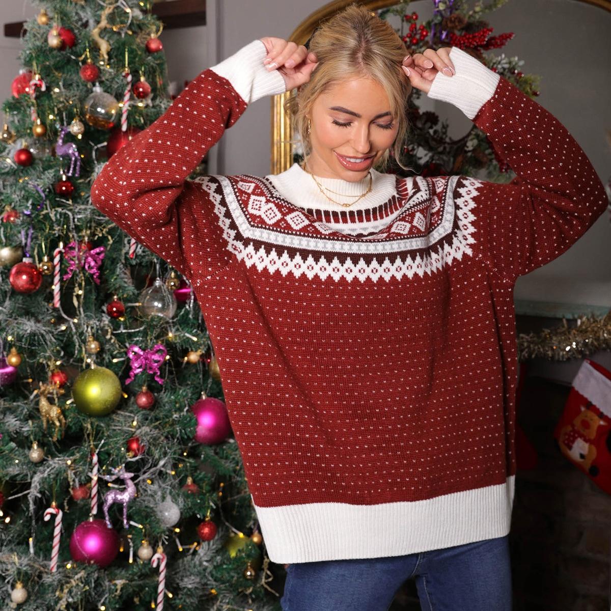 Рождественский свитер с рисунком