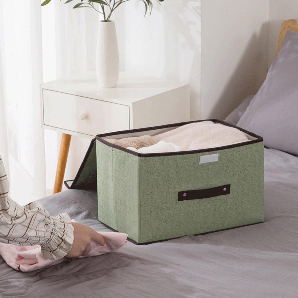 1pc Foldable Clothes Storage Box